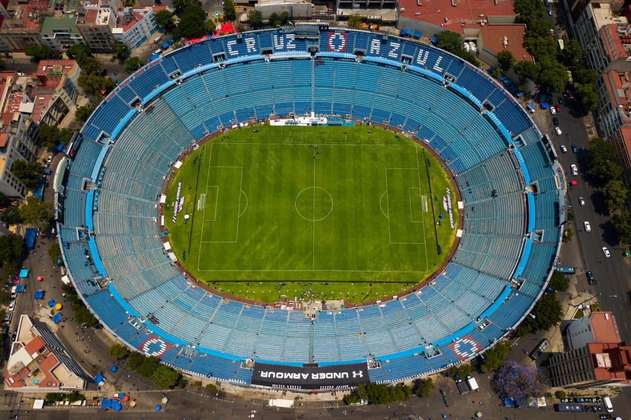 Cruz Azul, Estado México, Naucalpan, Estadio