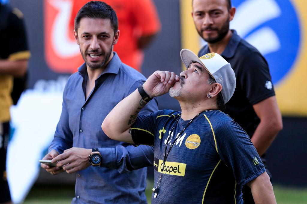 Diego Maradona Culiacán Los Pleyers