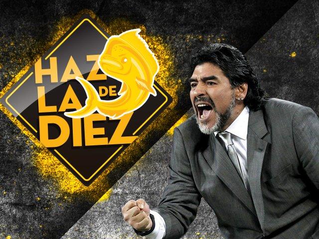 Diego Maradona, Dorados, Entrenador, Llegada