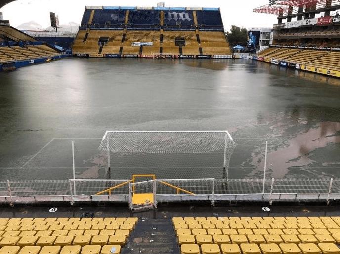 Estadio Dorados Inundación Tormenta Sinaloa Dorados Maradona