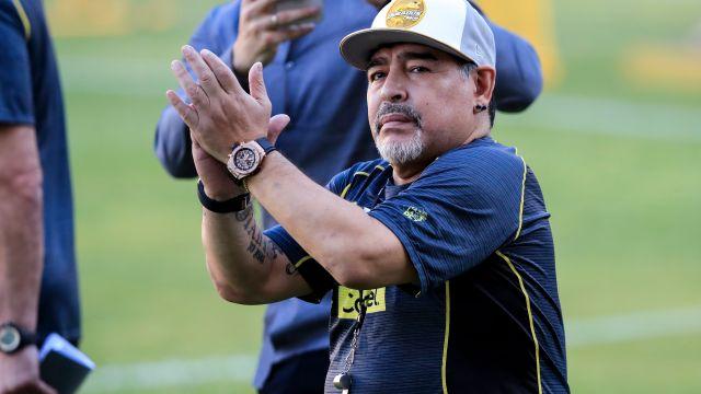 Maradona, Dorados, Debut, Resultado