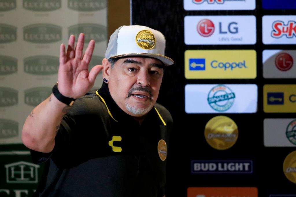 Maradona Dorados Saludo Los Pleyers