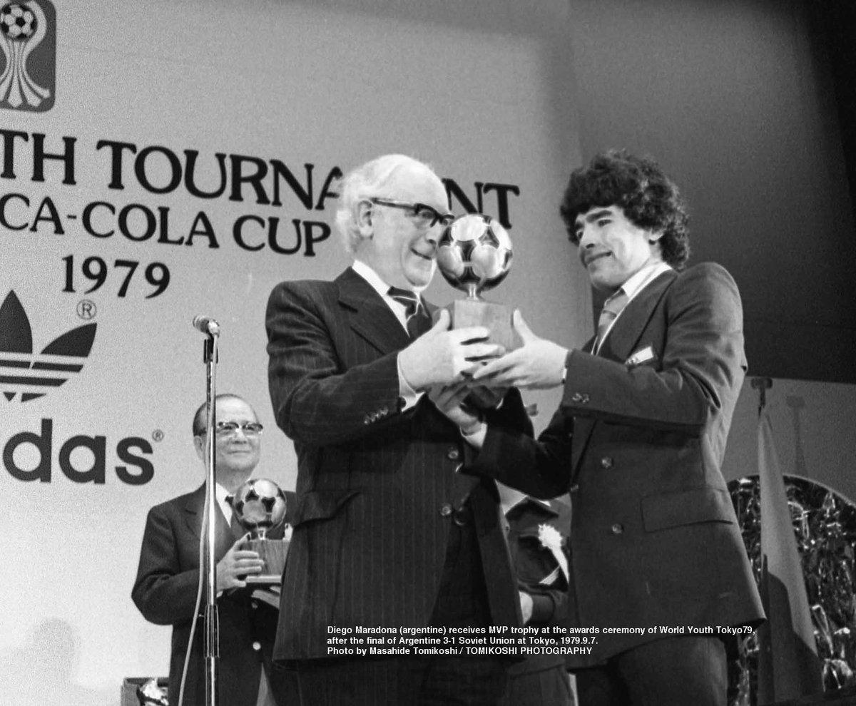 Maradona premio 1979 Los Pleyers
