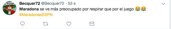 Maradona Preocupado Respirar Los Pleyers
