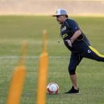 Maradona Protocolos Prensa Ascenso Los Pleyers