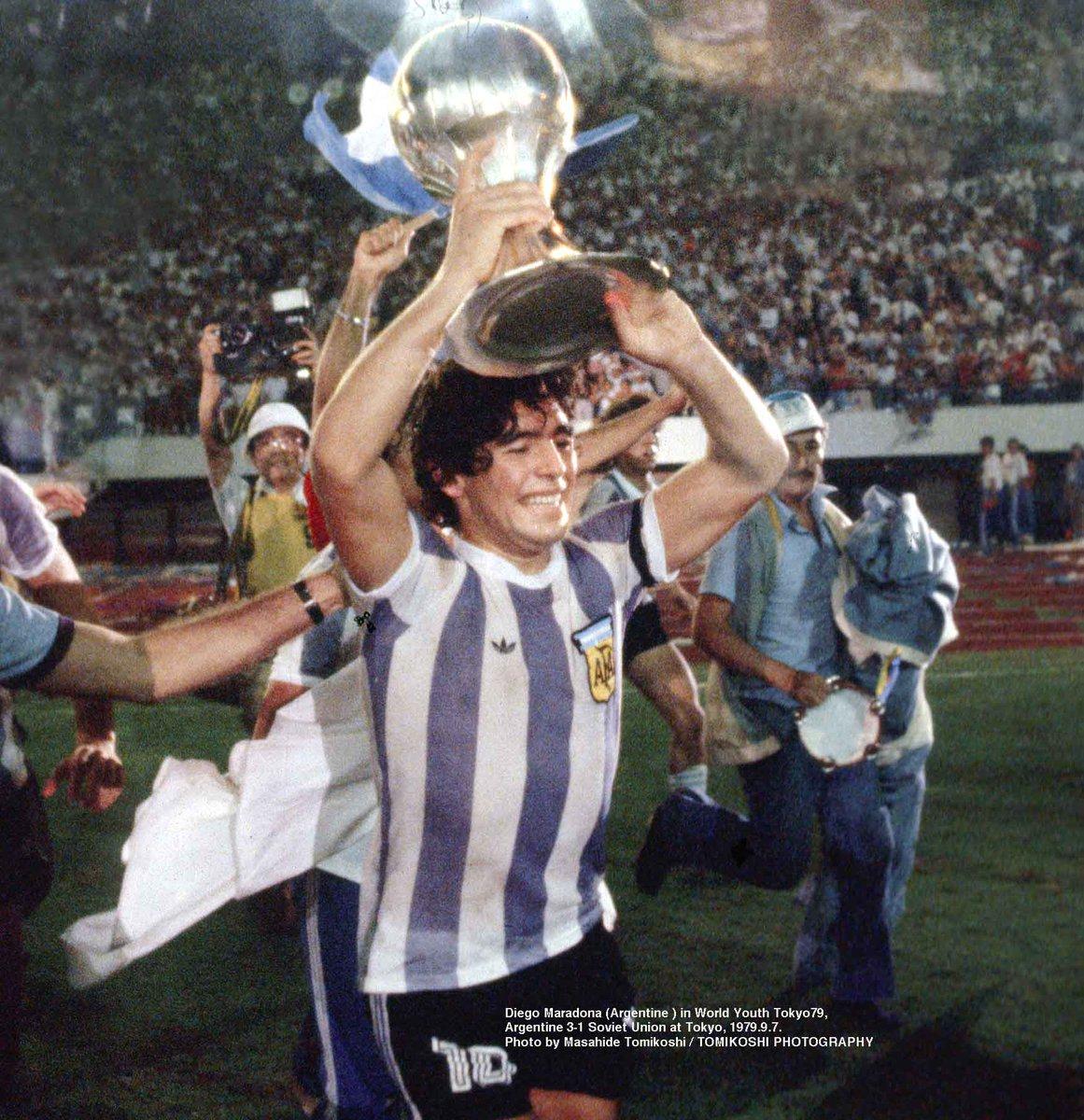 Maradona trofeo Los Pleyers