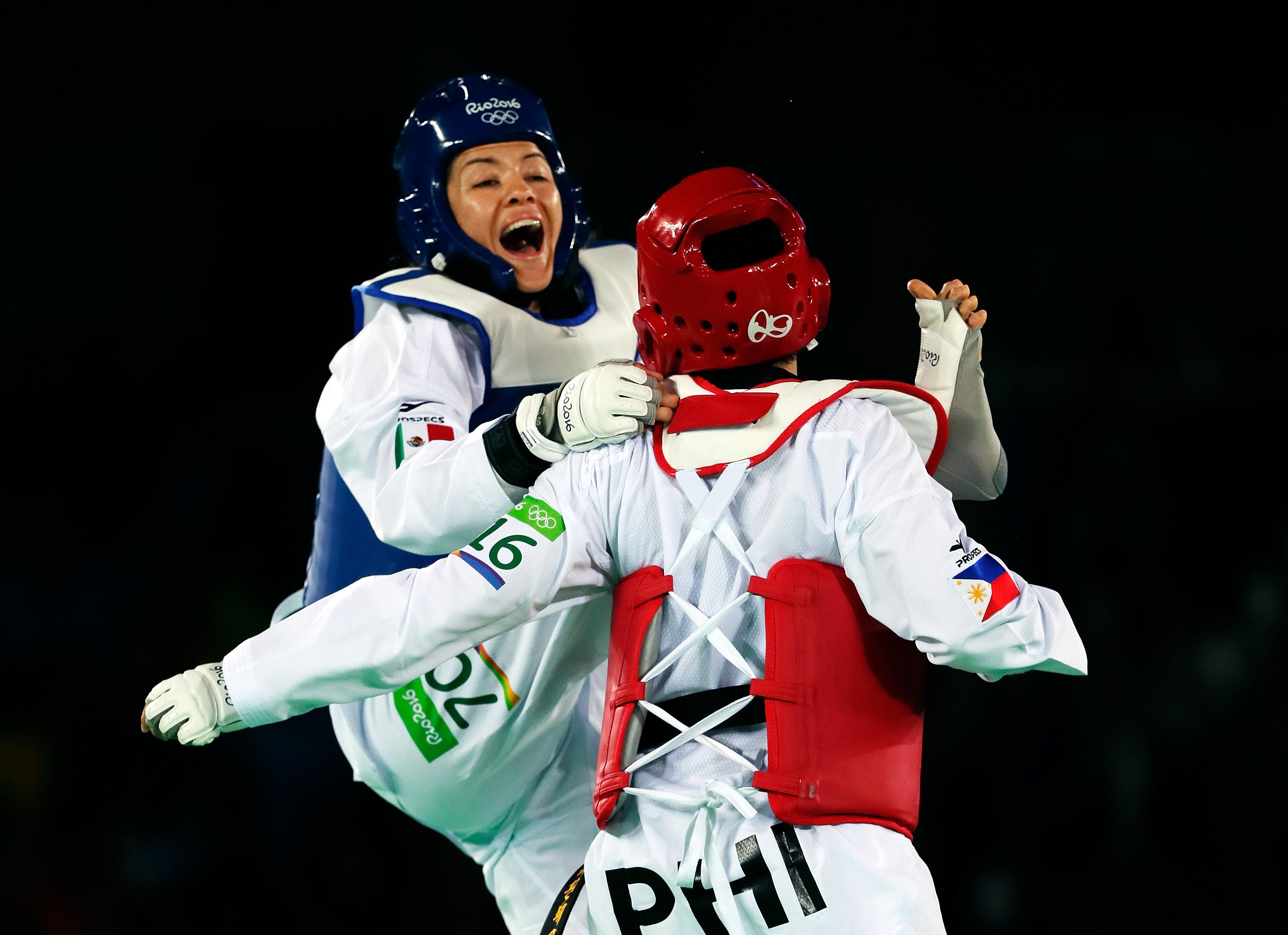 Maria del Rosario Espinoza, Atleta, Taewkwondo, Olímpicos, Medallista, Campeona