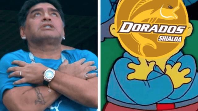 Memes Diego Maradona Dorados Técnico Los Pleyers