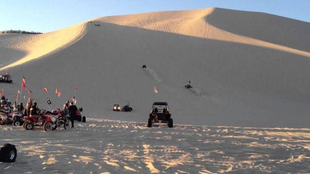 Sand Mountain Nevada Dunas Arena Deportes Extremos