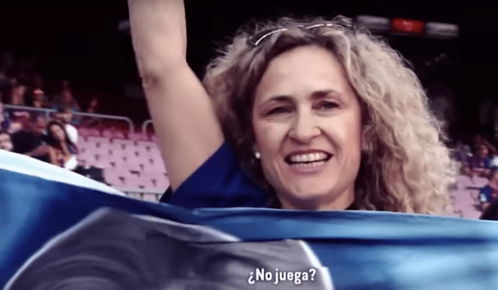 Aficionada Viaja Argentina Messi No Juega