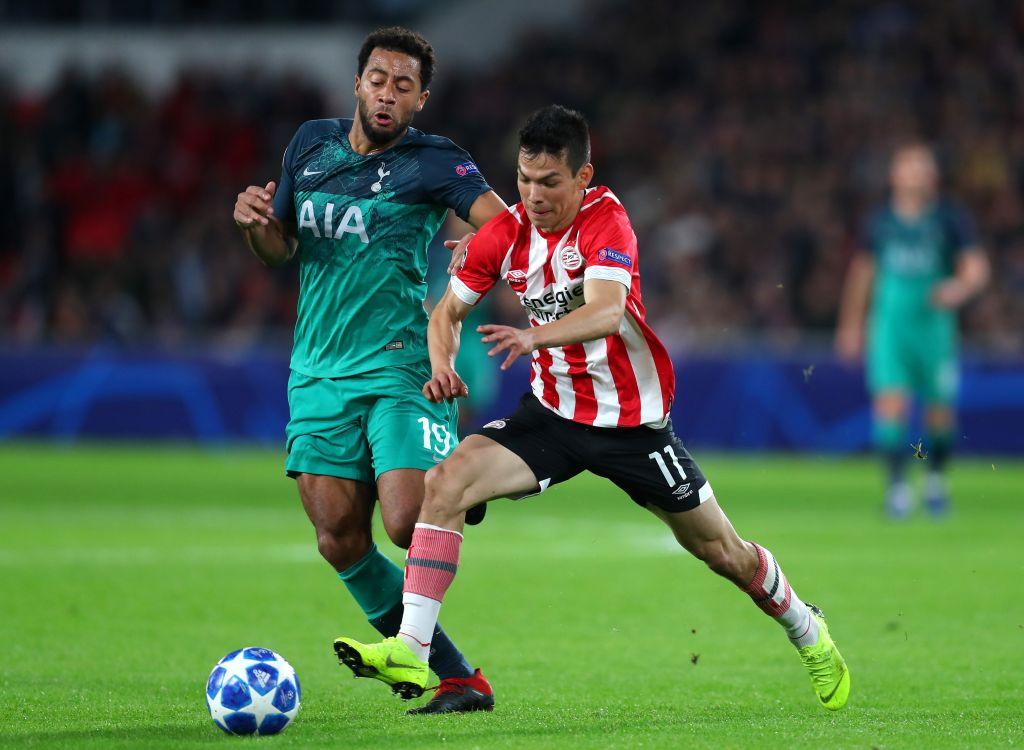 Champions League, 2018 2019, Jornada Tres, Goles Los Pleyers