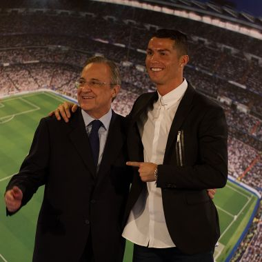 Cristiano Ronaldo, Florentino Pérez, Real Madrid, Salida Los Pleyers