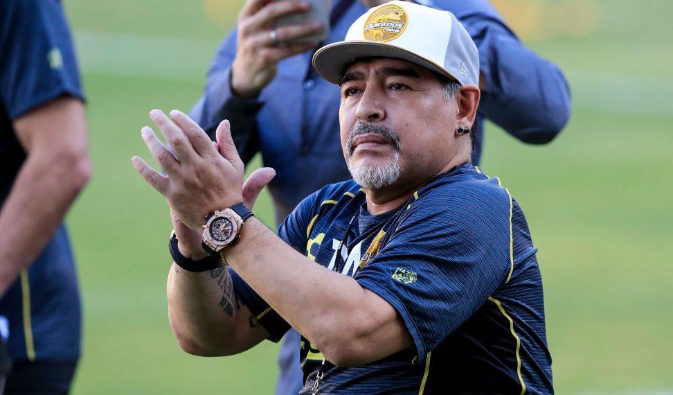 Diego Armando Maradona Comida Culiacán Argentina