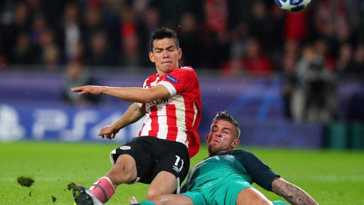 Gol Chucky Lozano PSV Champions League Tottenham