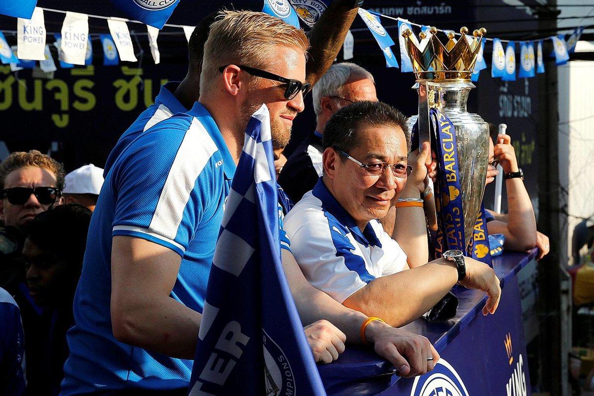 Kasper Schmeihel, Vichai Srivaddhanaprabha, Leicester City, Carta Los Pleyers