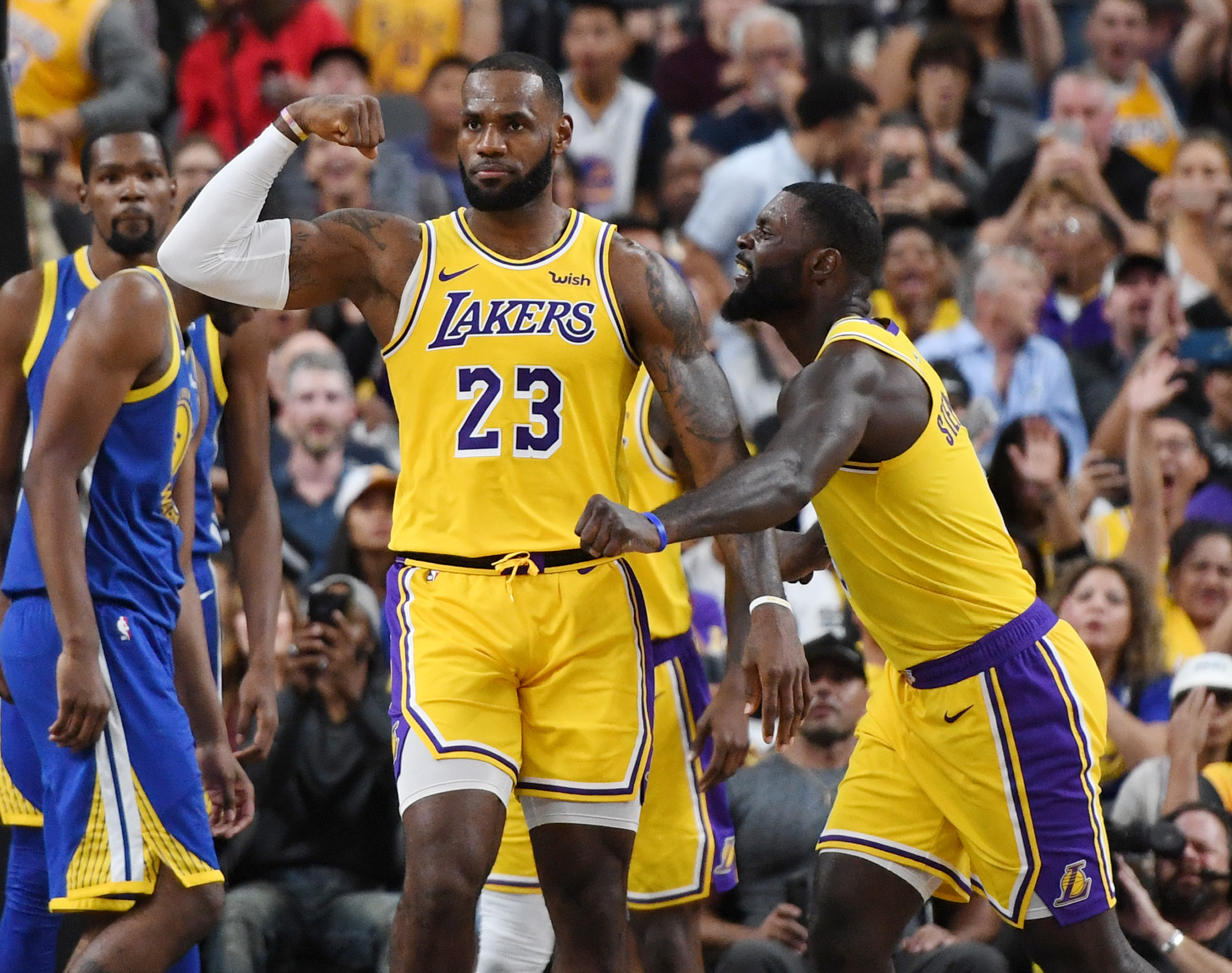 NBA, Temporada 2018 2019, LeBron James, Lakers Los Pleyers