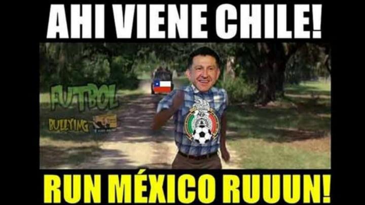 Meme Juan Carlos Osorio México Chile