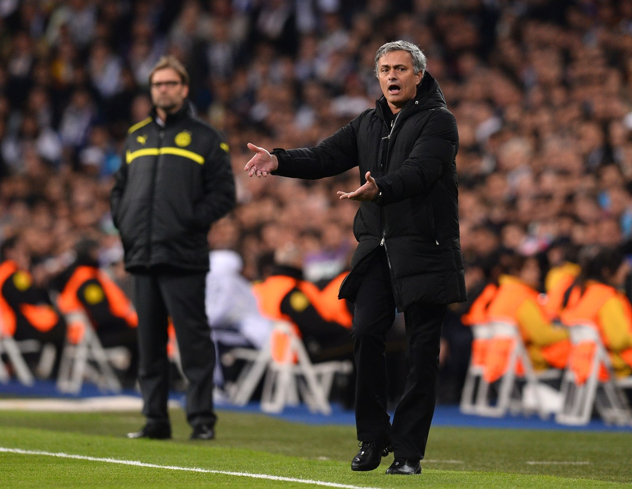 Real Madrid, Jose Mourinho, Manchester United, Entrenador Los Pleyers