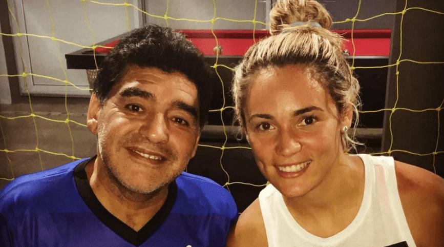 Rocío Oliva, Diego Maradona, Dorados, Futbolista Los Pleyers