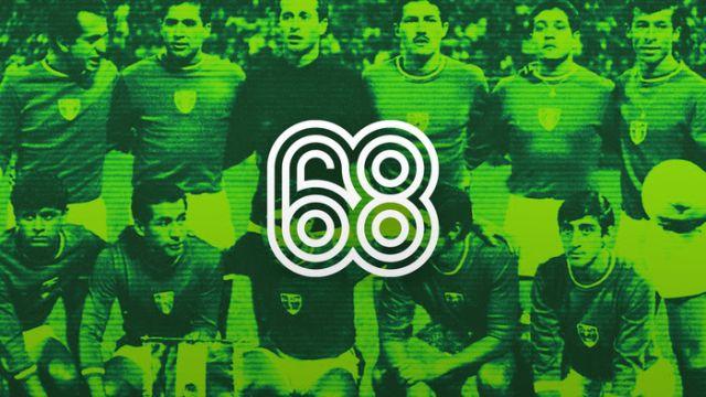 Selección Mexicana Futbol Juegos Olímpicos 1968