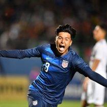 Alexis Méndez Mexicoamericano Estados Unidos Premundial Sub-20 Los Pleyers