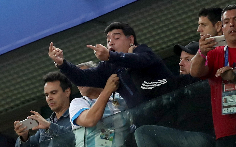 Diego Maradona Mundial Rusia 2018