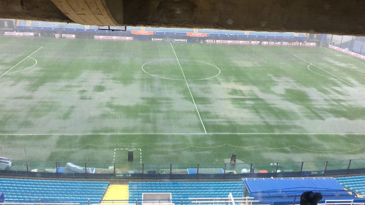 Final Copa Libertadores, Boca Juniors, River Plate, Lluvia Los Pleyers