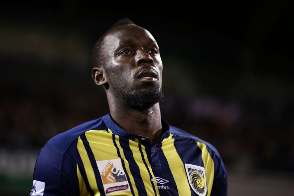 Central Coast Mariners, Usain Bolt, Contrato, Acepta