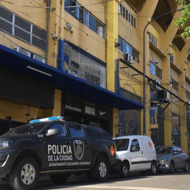 Bombonera Amenaza de Bomba Boca Juniors Copa Libertadores