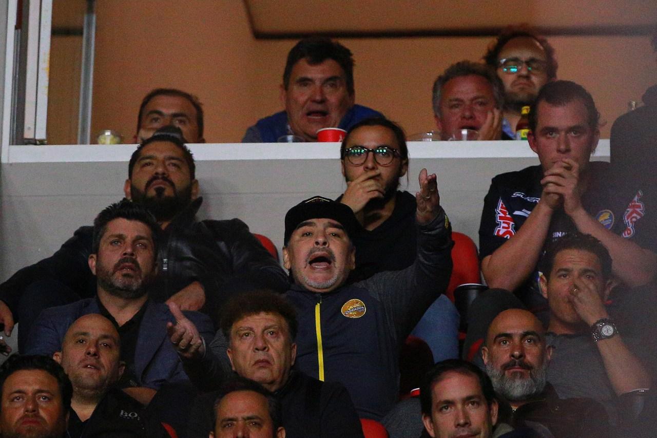 Diego Maradona, Golpe Aficionados, Atlético San Luis, Dorados