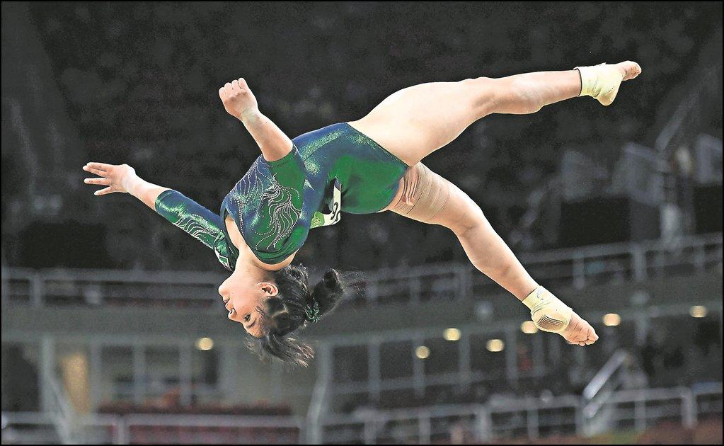 La gimnasta mexicana Alexa Moreno gana oro en Japón