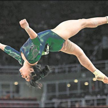 Alexa Moreno Gimnasta Mexicana Medalla Oro