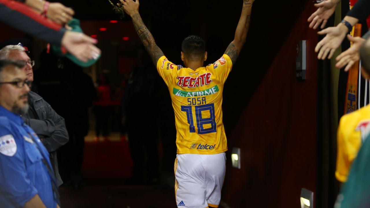 Ismael Sosa Refuerzo Pachuca Tigres Liga MX