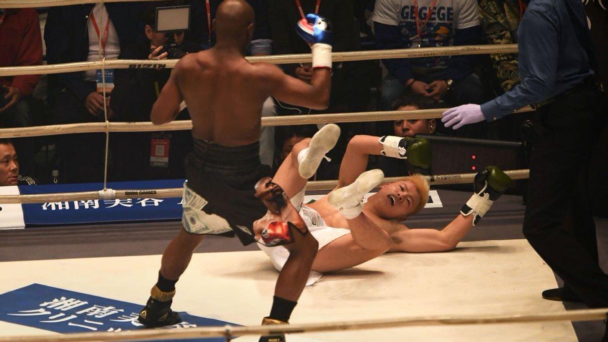 Mayweather vuelve a ponerse los guantes contra el 'Ninja Boy' Nasukawa