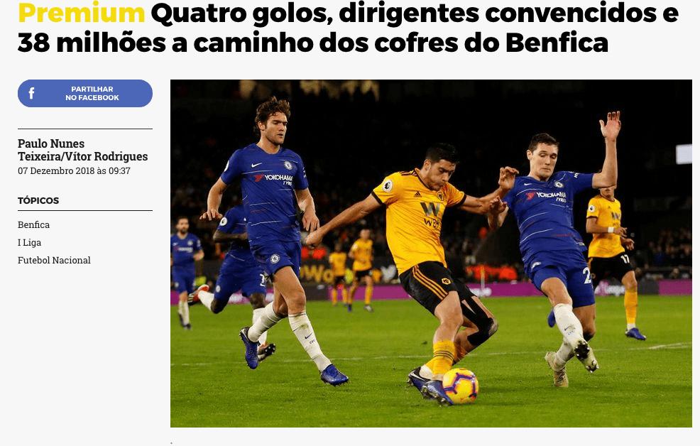 Los Wolves pagarían 38 mde por Jiménez