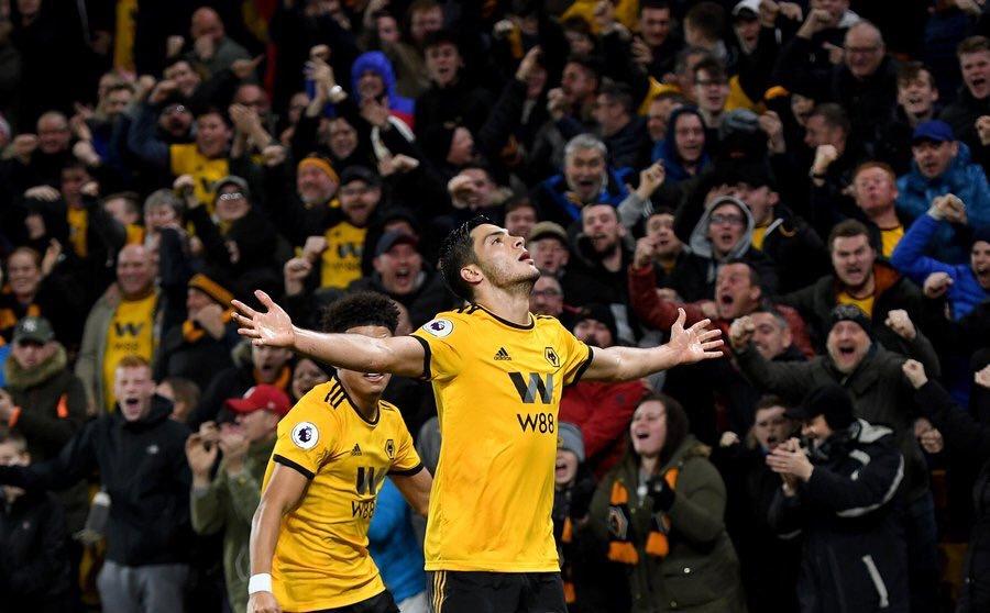 Raúl Jiménez Wolves Gol Video Los Pleyers