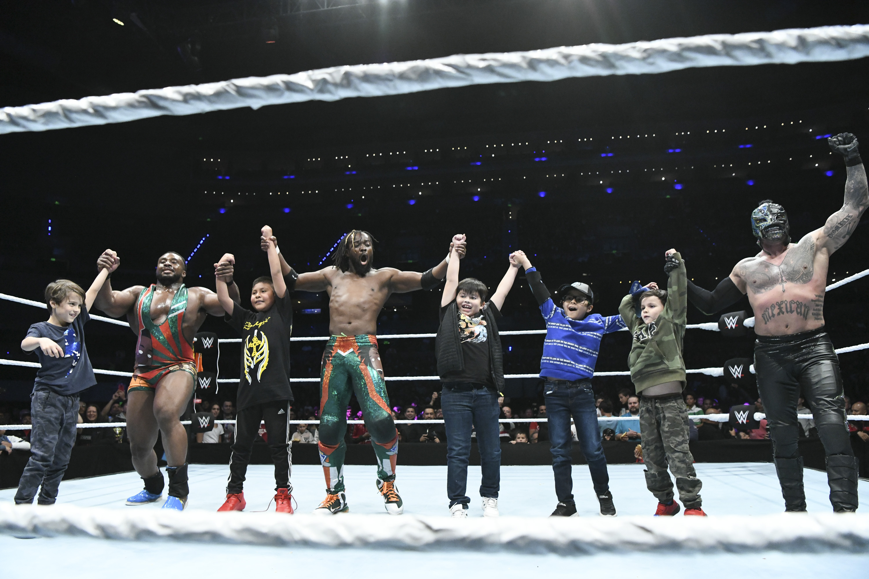 WWE Lucha Libre Rey Misterio México Arena The New Day