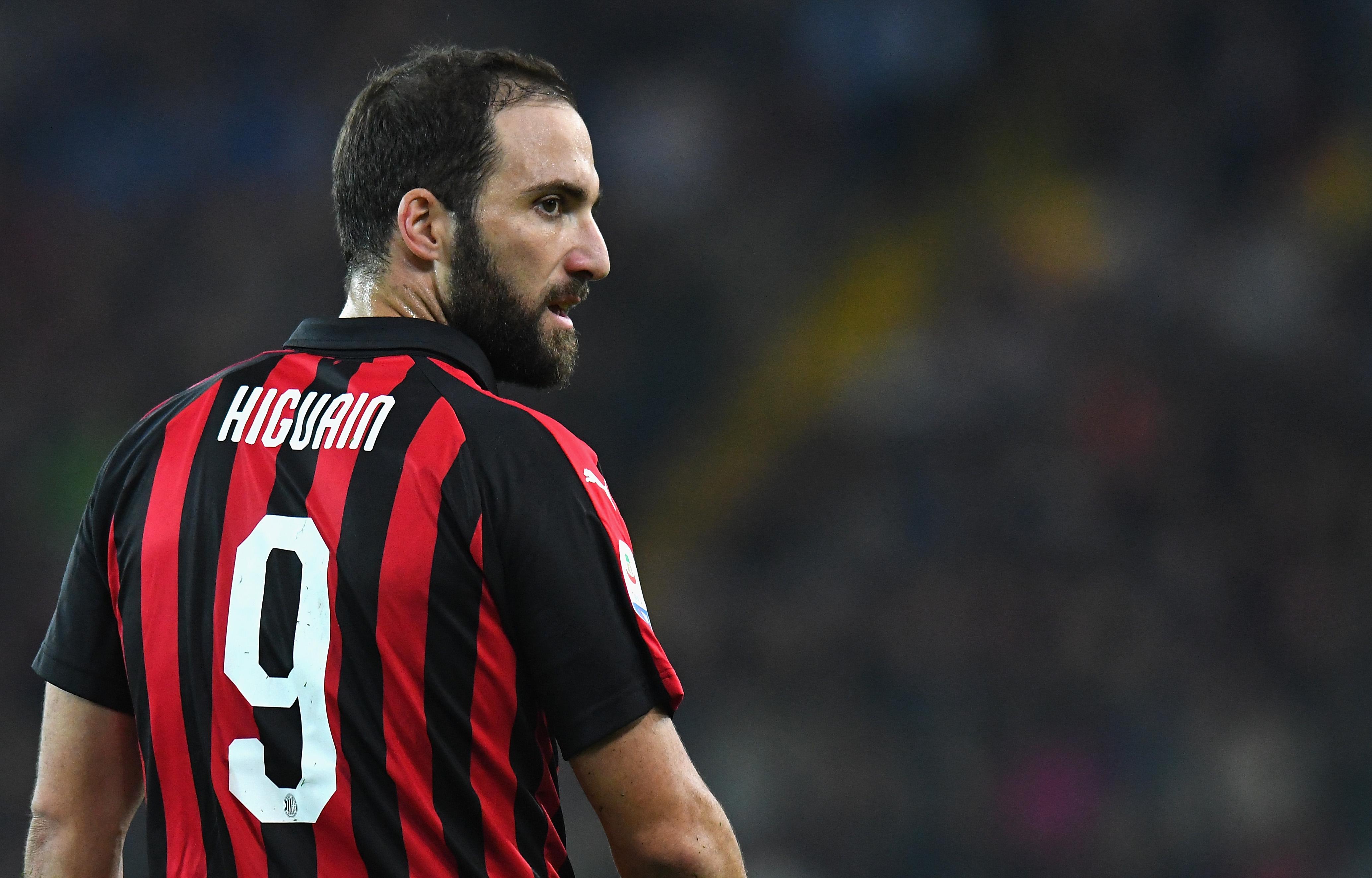Entrenador Milán Secuestro Retener Gonzalo Higuaín