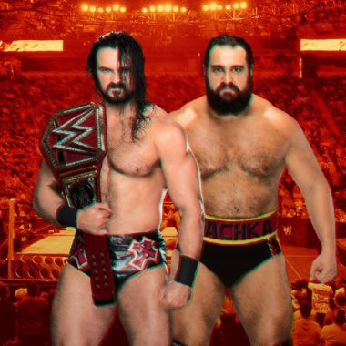 Royal Rumble Drew McIntyre WWE Rusev
