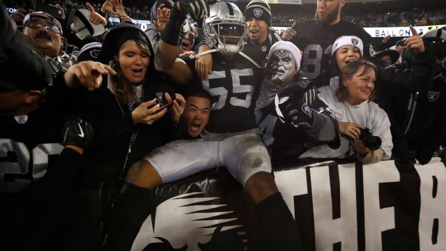 Raiders Oakland San Francisco 2019 Los Pleyers
