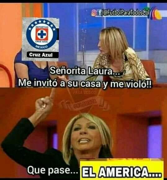 Meme Laura Cruz Azul Los Pleyers