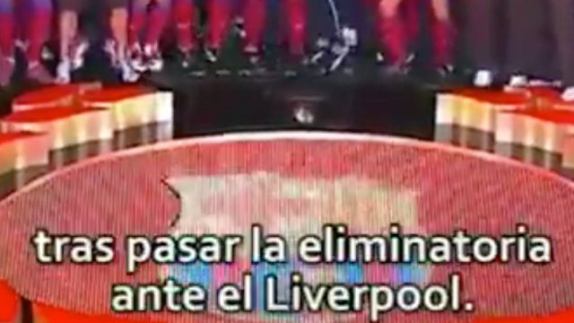 Sport Video Final Barcelona Champions League Liverpool