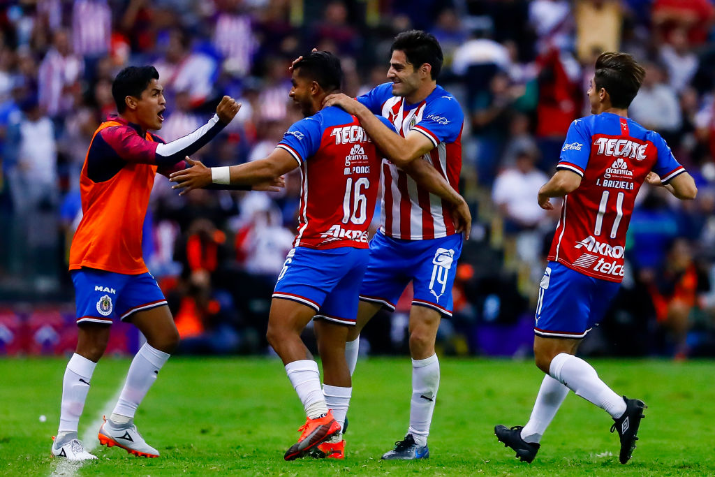 16/02/2019. Sigue en vivo los goles del Chivas vs Atlas de la Liga MX