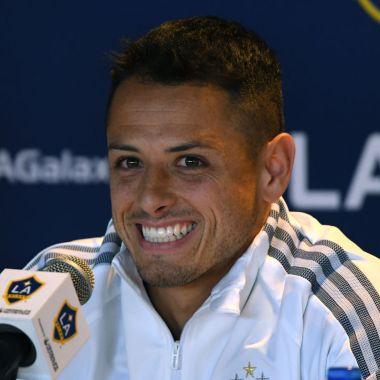 23/01/2020. Chicharito Galaxy Chivas Chillón Los Pleyers, Javier Hernández en su presentación con el LA Galaxy.