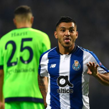 28/11/2019, Jesús Manuel Corona, Porto, Gol, Portugal