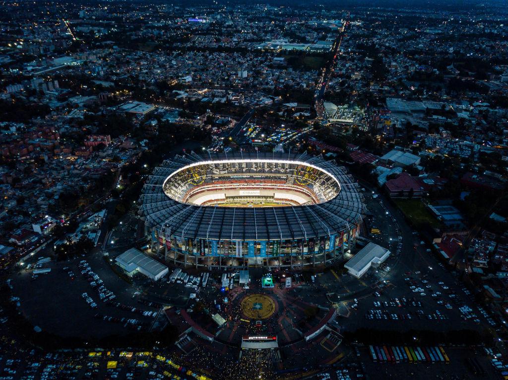 26/12/2019, Estadio Azteca, Sede, Copa Mundo 2022, México
