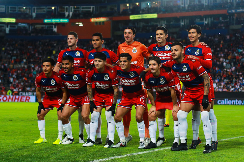 27/01/2020, Jugadores, Chivas, Copa MX, Alineación