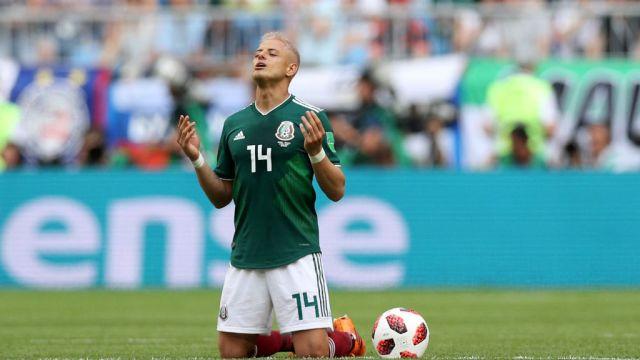 02/07/2018, Javier Hernández, Selección Mexicana, Delantero, MLS