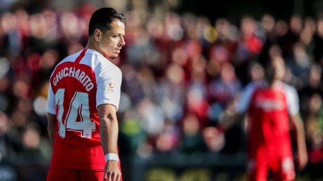 13/01/2020, Precio que LA Galaxy pagaría al Sevilla por Chicharito