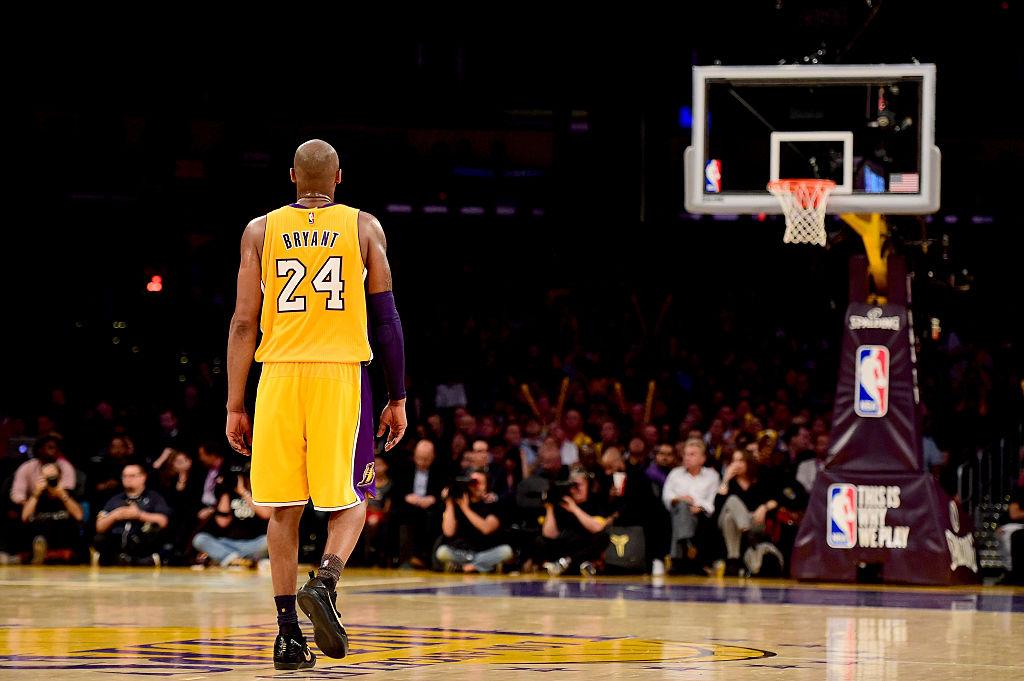 13/04/2013. Kobe Bryant Helicóptero Video Accidente Los Pleyers, Kobe Bryant en un juego con Lakers.